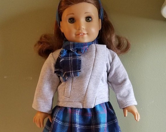 6 piece Winter Outfit  for any 18 Inch doll like the American Girl doll