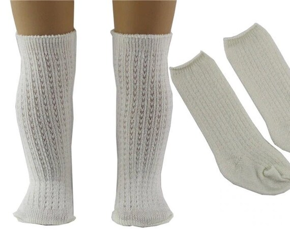 Knee Socks for the American Girl Doll two styles