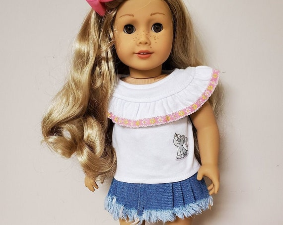 "Summer Outfit for your 18"" American Girl doll"