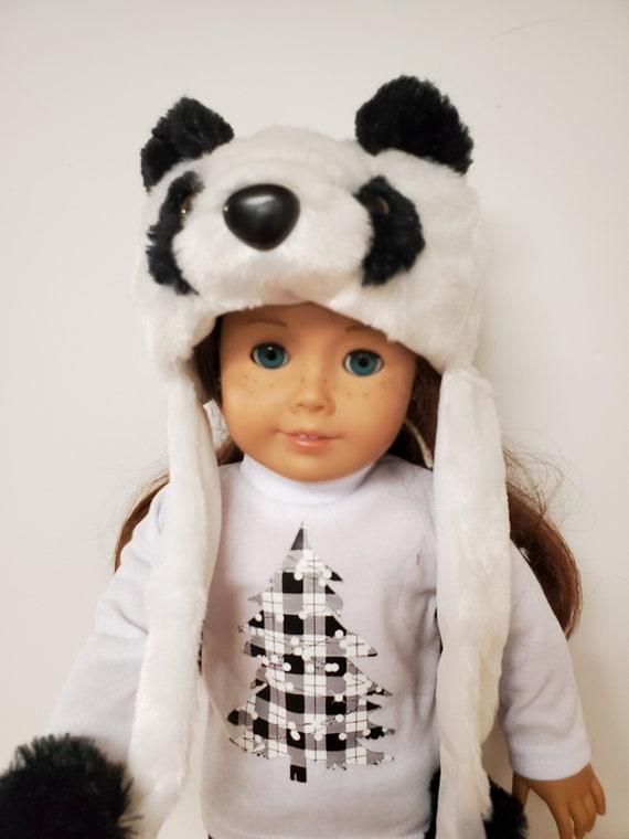 American Girl 4 Piece Winter  Panda Outfit,