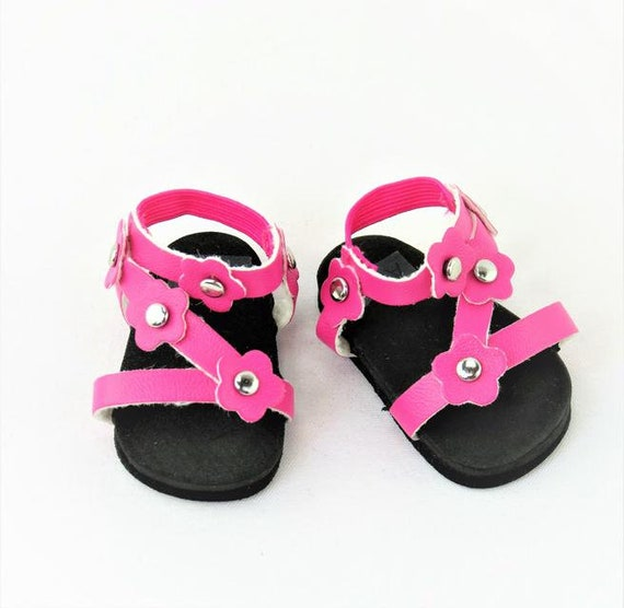 American Girl doll Flower Sandals doll shoes that fits 18 inch dolls