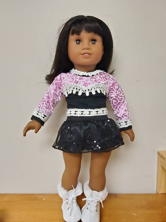 3 piece ice skating outfit. that will fit the American Girl doll