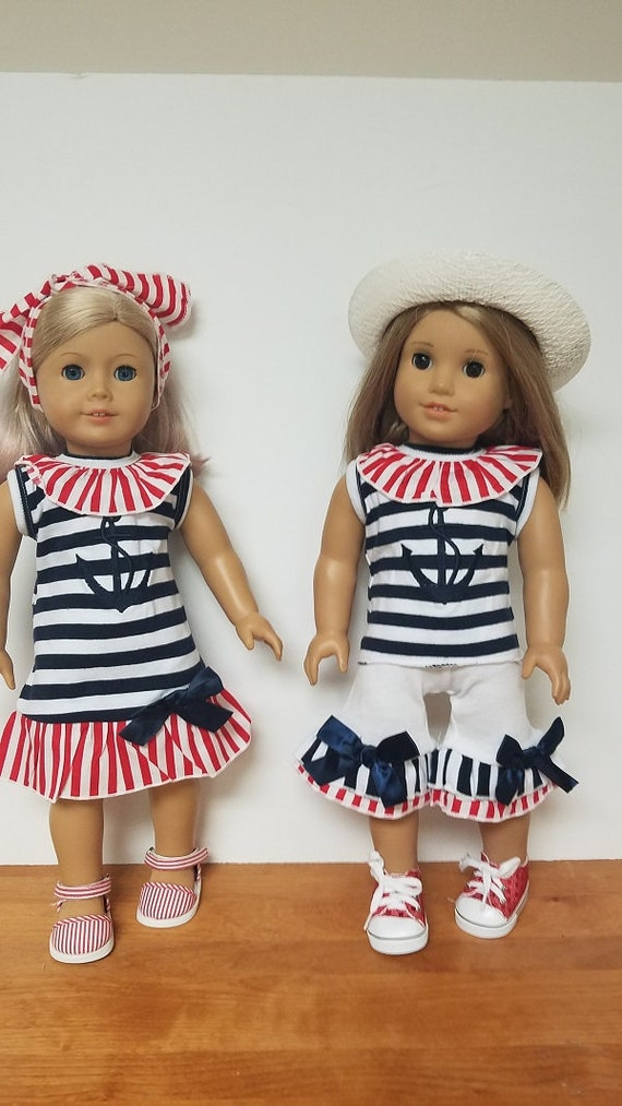American Girl 4th of July Outfits