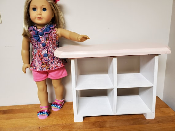 """American Girl Display Case or Any 18"""" Doll - Open Display Counter"""