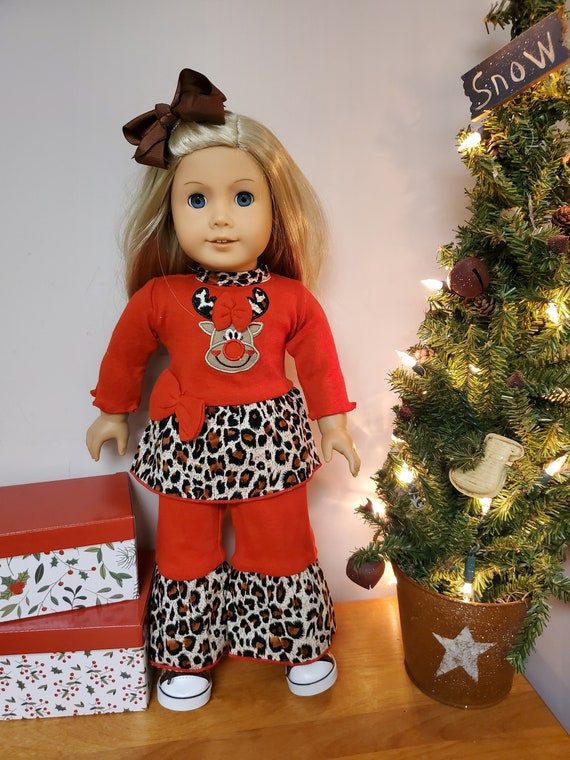 Christmas outfits for the American Girl Doll