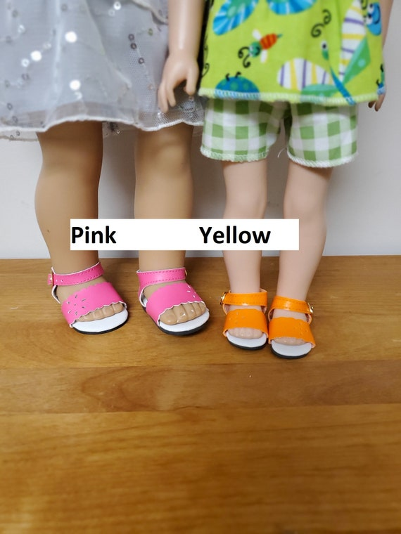 18 inch Doll Sandals that fit the American girl Summer Sandals.