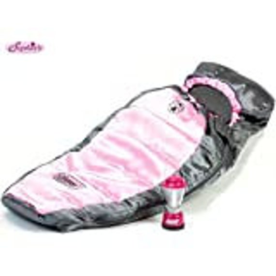 """Coleman Sleeping Bag and a light up lantern for 18"""" dolls American Girl"""