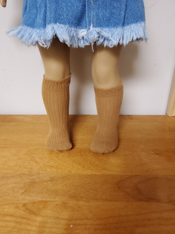 Knee Socks for the American Girl Doll three styles