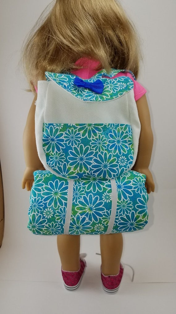 Doll Backpack Handcrafted for 18 Inch dolls such as American Girl®