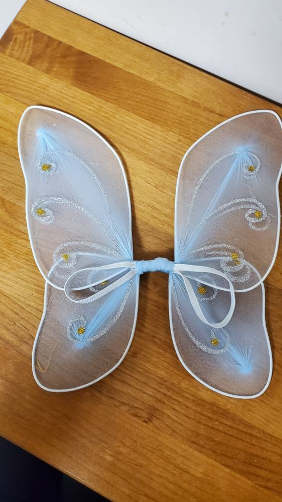 American Girl doll blue fairy  wings