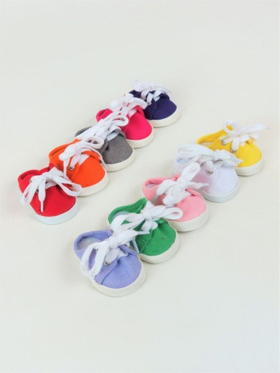 Slip on Tennis Shoe for any 18 inch doll like the American Girl doll