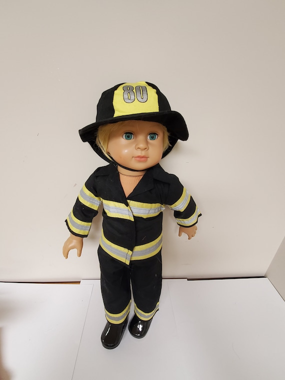 Fire Fighter 18 inch Doll outfit