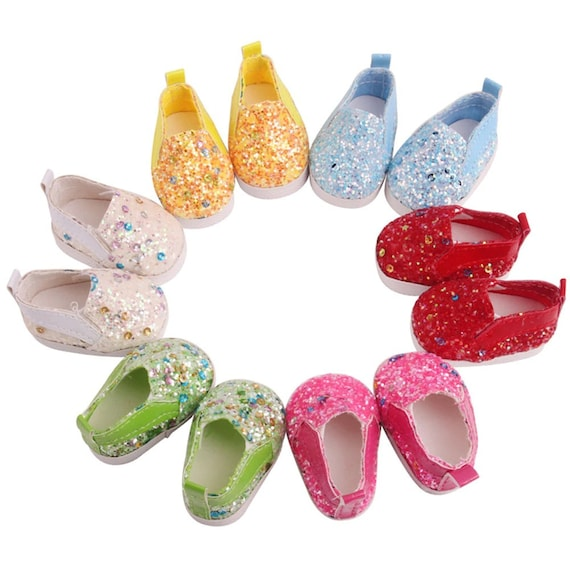 Wellie Wisher 14.5 inch Doll Sequin Fashion Cute Small Shoes
