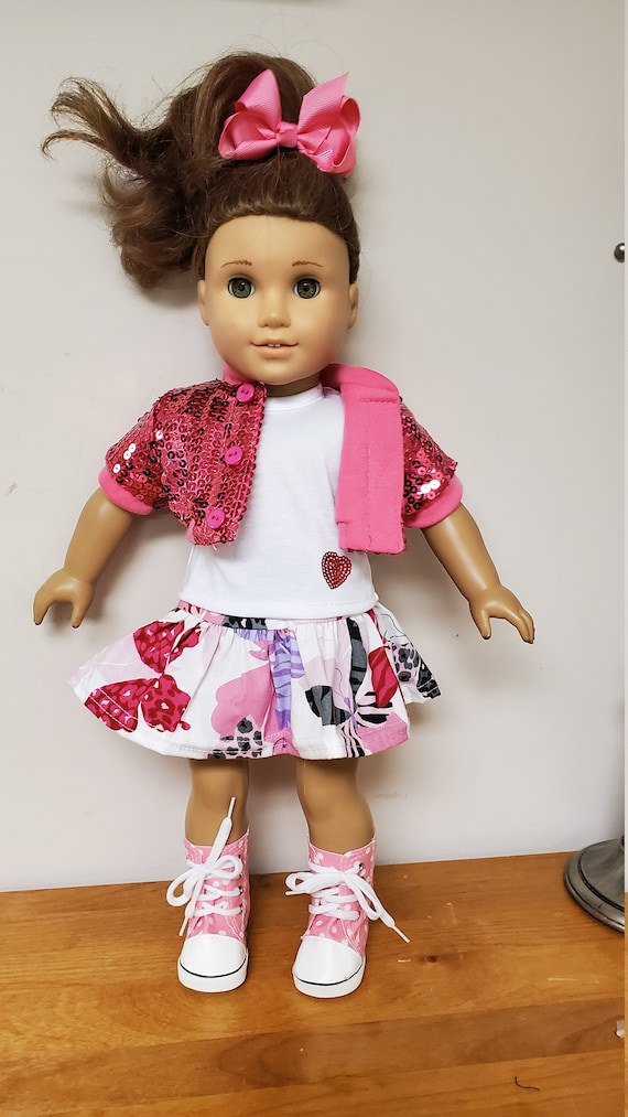 5 piece Outfit for any 18 Inch doll like the American Girl doll