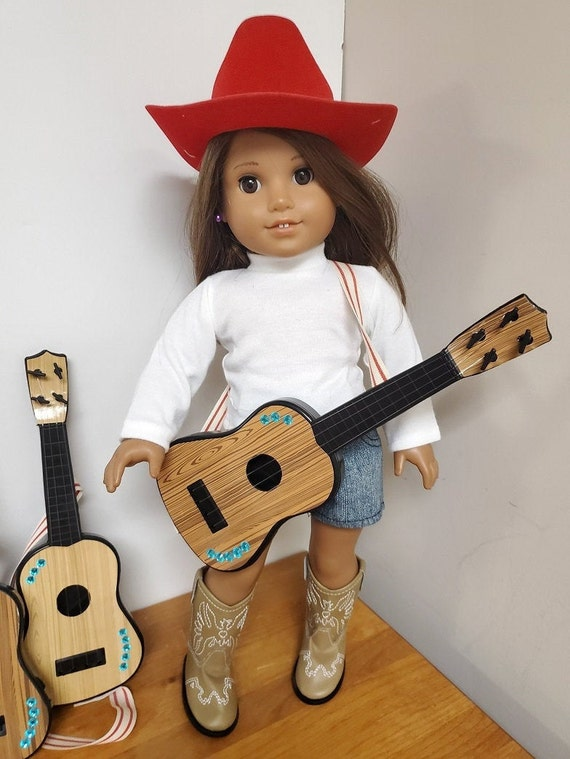 "Guitar for the American Girl Doll or any 18"" Doll"