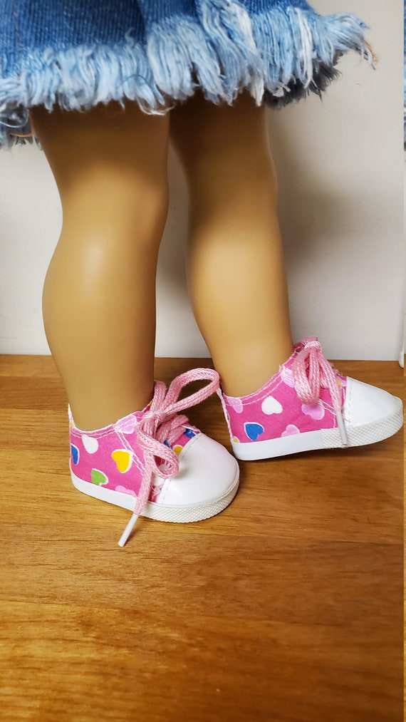 American Girl Doll Tennis Shoes, 9 different colors.