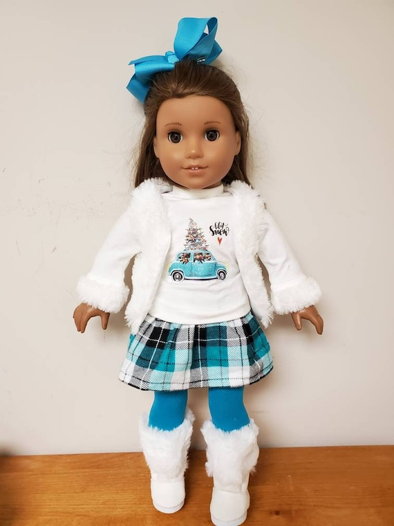 Winter Outfit for the American Girl Doll 6 Pieces