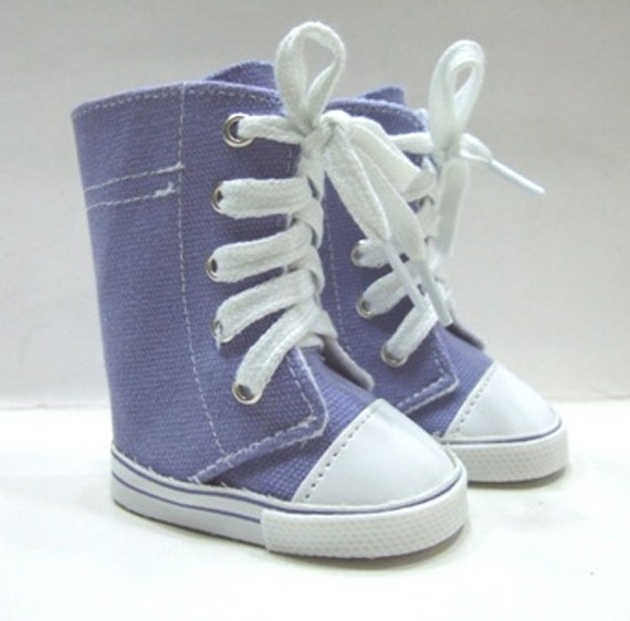"""Hi-Top Sneakers for any 18"""" Doll like the American Girl Doll"""