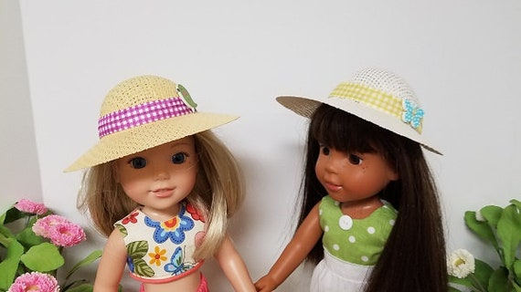 Poke Bonnet/Hat that will fit the Wellie Wisher Doll