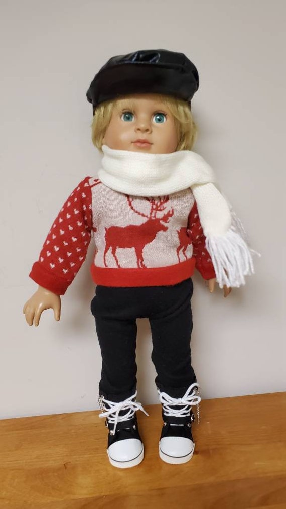 Winter outfit for any 18 inch boy  doll