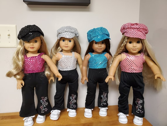 Dance outfit for the American Girl 4 colors