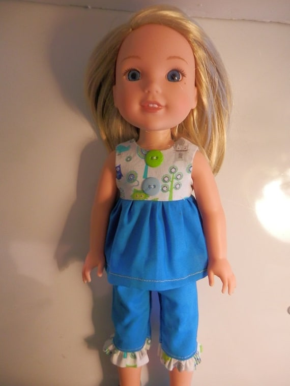 2 Piece outfit that will fit the Wellie Wisher Doll