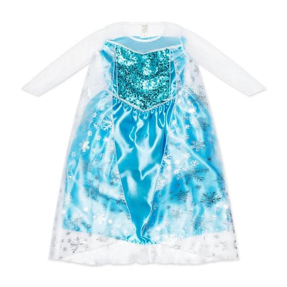 Princess Elsa from Frozen Girls Costume For Kids