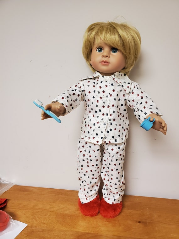 5 Piece PJ's Set Doll Clothes For 18 Inch American Girl Boy Dolls | 18 Inch Boy Doll Clothes