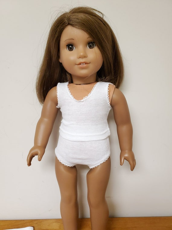 2 piece Underwear set for American Girl Dolls and other 18 inch Dolls
