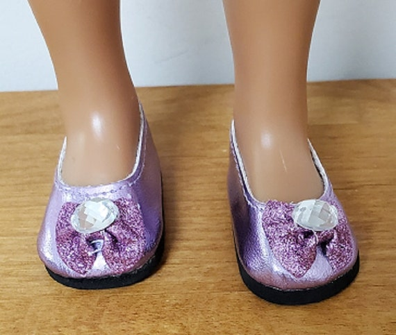Wellie Wisher 14.5 inch doll Berry or Pink Dress Party shoes for the Willie Wisher Doll