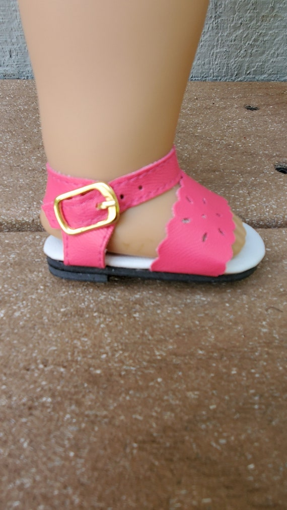 14.5 inch Doll Sandals that fit the Wellie wisher Summer Sandals lots of colors