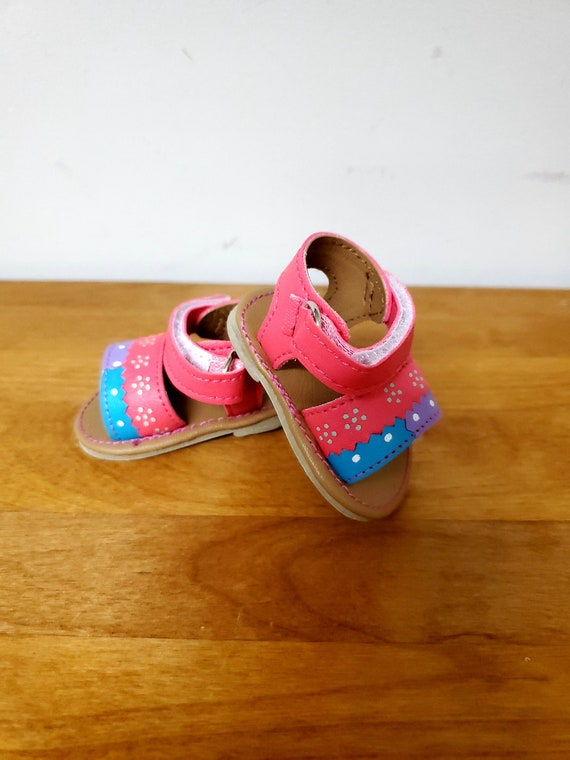 American Doll Multi Colored Sandals Doll Shoes/Girl Doll Accessories/18 inch Doll Sandals