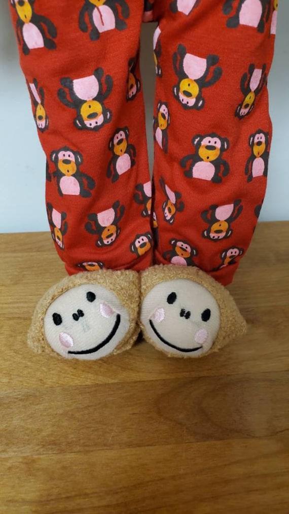 Cute little monkey  slipper