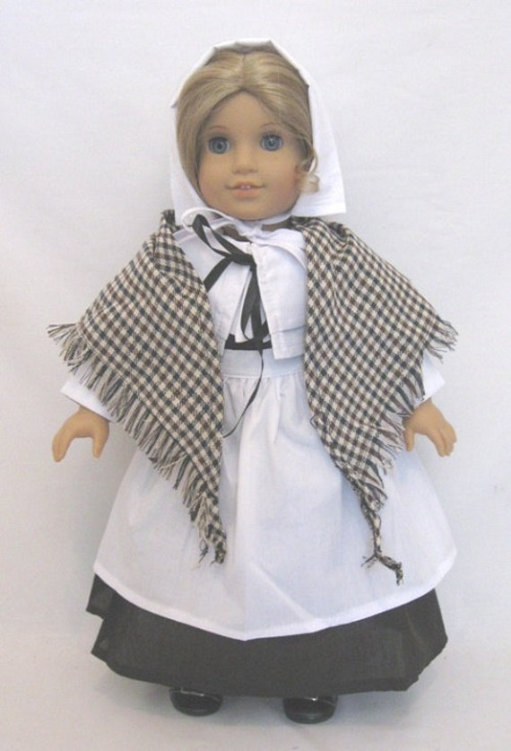 """Pilgrim outfit for the American Girl Doll or any 18"""" doll"""