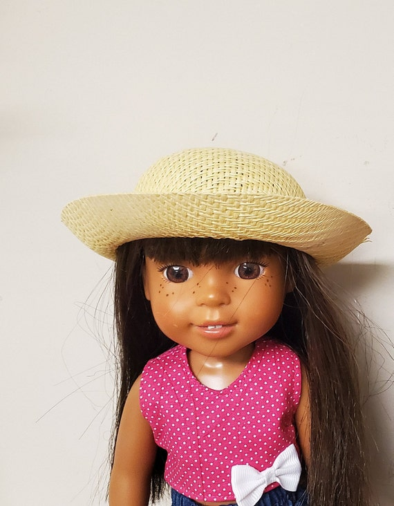 Bonnet/Hat that will fit the Wellie Wisher Doll