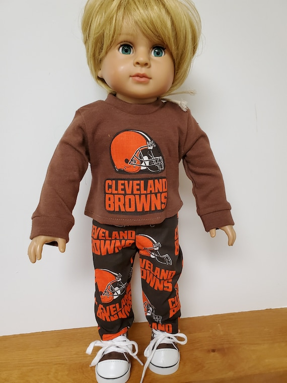 Cleveland Brown Outfit Boy Doll Clothes for the American Boy Doll  18 inch