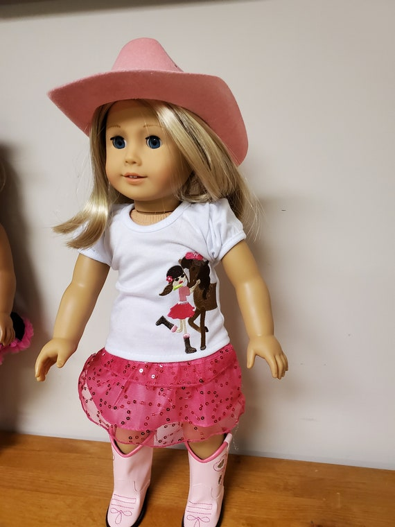 Cowgirl outfit for the American Girl