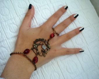 Alice in Wonderland Bracelet Ring