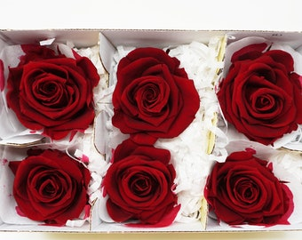 6 wine, preserved roses, real roses, red roses, floral arrangements, preserved flowers, home decor flowers, wedding decor, flower gifts