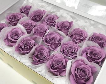 Lavender, preserved roses, preserved flowers, home decor, wedding decor flowers, rose heads, real roses, gift roses, floral arrangements