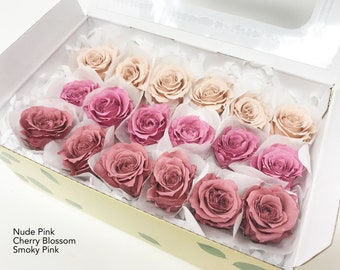 preserved roses, 3 colors,  gift roses, preserved flowers, flower arrangements, home decor flowers, wedding decor roses, real roses