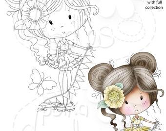 Darling Buds Snowdrop Digital Stamp download