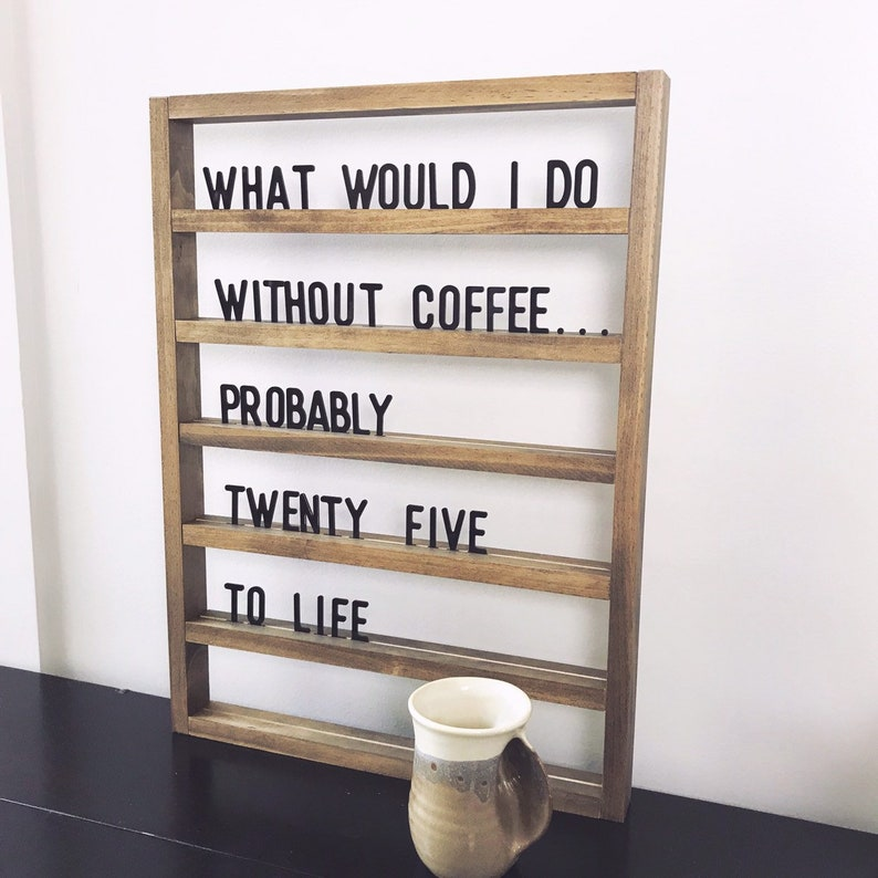 Extra set of letter board letters image 0