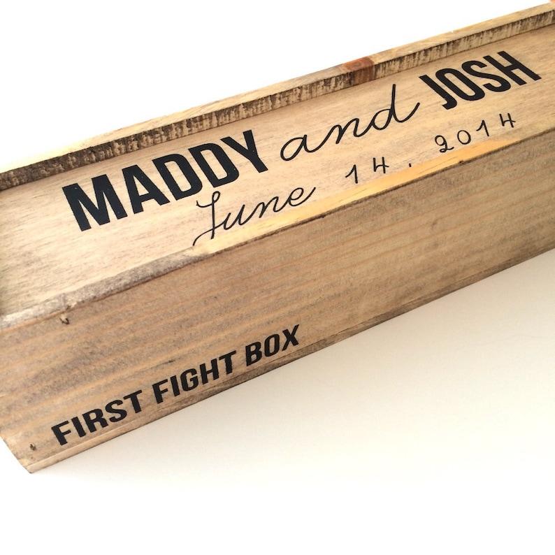 Wedding wine box first fight box wine box image 0