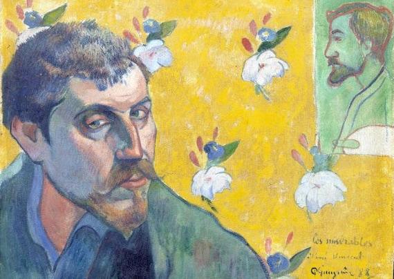 Gauguin Tavolo In Plastica Set Autoritratto Con Ritratto Di Etsy