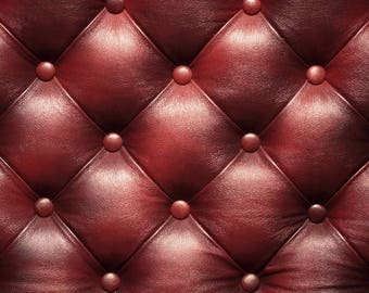Laminated placemat pattern leather