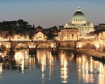 Laminated placemat Rome Italy