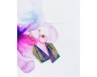 Geostars Earrings