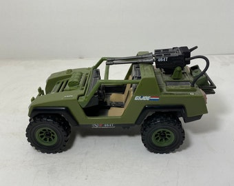 VINTAGE GI JOE FIVE STAR JEEP REPLACEMENT Light papers