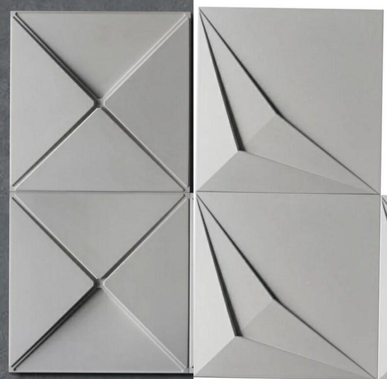 SILICONE MOLD for DIY Concrete cement Brick tile Concrete tile mold Home  decoration Silicone clay mold Hexagon creative concrete wall mold